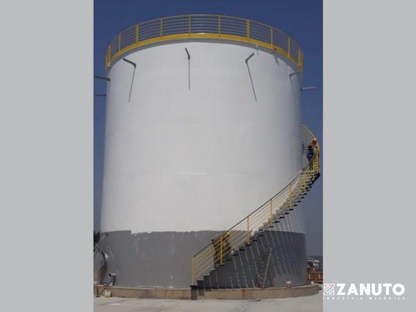 TANQUE DE ARMAZENAMENTO (1.000 m³)